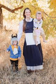 diy beauty and the beast family costumes