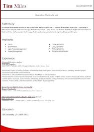 Latest Resume Format Current Resume Templates New Updated Resume