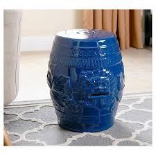 blue garden stool. Blue Garden Stool D