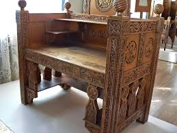 furniture motifs. Antique Furniture. Byzantine Motifs Featured On Queen Marie Of Romania\u0027s Gilded Wood Desk Circa 1900 To 1910 4. Photographed At The Maryhill Museum Art Furniture .