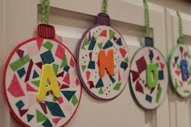 Paper Crafts For Christmas Christmas Decorations Ideas With Construction Paper