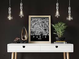 map of paris wall art elegant new diy industrial wall art 95 with inside map paris