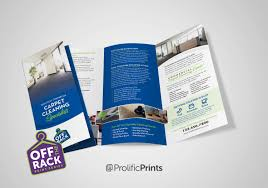 Cleaning Brochure Off The Rack Carpet Cleaning Commercial Brochures Style 1