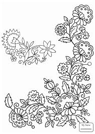 coloring pages for kids Floral Pattern arts culture   colorpages7.com