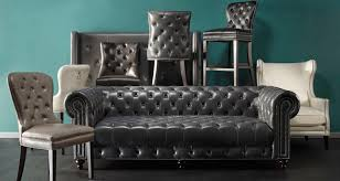 leather furniture chairs sofas beds z gallerie throughout and inspirations 8