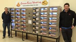 Vending Machine News Enchanting Farmers Switch From Honesty Boxes To Vending Machines For Fruit And