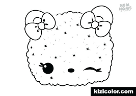 Num Noms Coloring Pages Free Betterfor