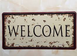 welcome car plate vintage tin sign bar pub home wall decor on retro diner kitsch kitchen wall art with retro diner kitsch kitchen wall art quot this fun vintage retro