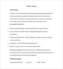 40 Event Planner Resume Templates DOC PDF Free Premium Templates Magnificent Resume Event Planning
