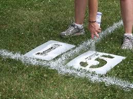 Backyard Baseball Field Daddy Made This For Loganu0027s Sports Themed Football Field In Backyard