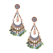 breathtaking copper green turquoise chandelier earrings a liked home improvement grants