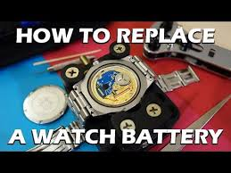 Tag Heuer Battery Chart How To Replace The Battery Of A Swiss Quartz Watch Feat