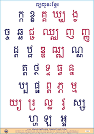 Colored Khmer Consonants Cambodia Expats Online Forum