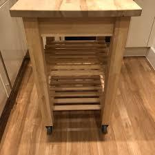 Bekvam kitchen cart Microwave Toaster Oven Description Shpock Ikea Bekvam Kitchen Trolley In Ha4 Hillingdon For 20 Shpock