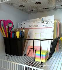 organize your office space. Organize-with-a-dish-drainer Organize Your Office Space