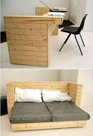 modern pallet furniture. No Instructions, But Cool Pics Of A Very Sleek Modern Pallet Desk And Modular Bed Frame. See More Furniture, Design, Inspiration, Furniture E