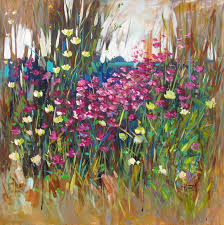 nazar harran painting wildflowers in spring acrylic on canvas previous next