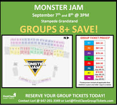Calgary Rodeo Seating Chart Monster Jam Calgary Stampede Grandstand First Class