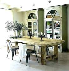 diy rustic wood dining table rustic plank dining table popular of rustic round dining room table