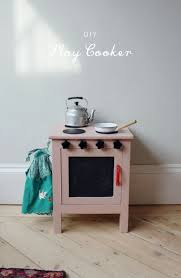 Play Kitchen From Old Furniture 17 Best Ideas About Diy Play Kitchen On Pinterest Kid Kitchen