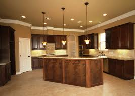 kitchen island breakfast bar pendant lighting. Kinsmen Homes Katherine Plan In College Station Kitchen. Oil Rubbed Bronze Pendant Lighting, Kitchen Island With Breakfast Bar, Cappuccino Stain Bar Lighting G