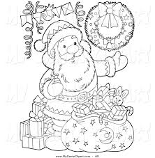 christmas drawing outline. Delighful Christmas 1024x1044 Royalty Free Christmas Party Stock Santa Designs To Drawing Outline C