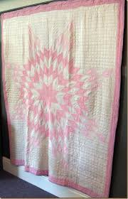 Heritage Quilt Show - Creative Cynchronicity & Lone Star Quilt, early 20th century, considered one of the most difficult quilt  patterns, mostly handmade but edges were finished by machine, star formed  by ... Adamdwight.com