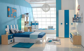 modern elegant nuance of the kid boy bedroom furniture that has modern wooden floor and also blue mattras can be decor with round hang lamp inside the boy bed furniture