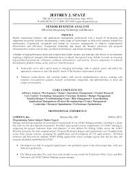 Cover Letter Analyst Resume Examples Workforce Analyst Resume