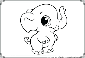 Coloring Pages For Adults Kids Online Disney Stitch Baby Elephant