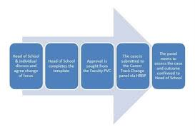 Cameron School Of Business Flow Chart R T Process To Change Career Pathway Flow Chart The