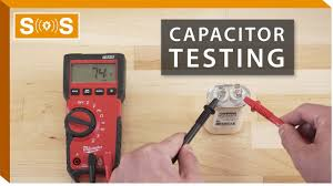 test a capacitor with a multimeter