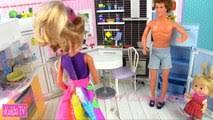 Мама Барби, и Маша. Рабочая одежда для доктора - video ...