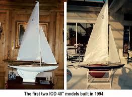 Model Sailboat Design International One Design Models And Frames In Many Size