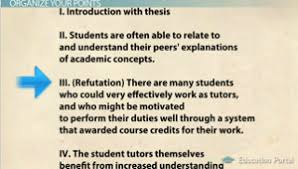 how to structure an argument in your essay video lesson  argument essay outline