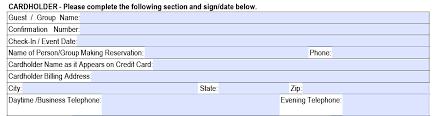 hilton credit card authorization form part 1 cardholders