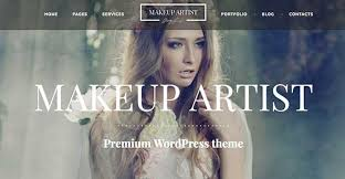 makeup artist websites templates 25 artist website templates for creatives web design tips
