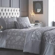 warwick silver jacquard duvet cover sets