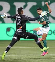 GazetaWeb - Com grande atuação de Diogo Silva, CRB devolve derrota por 1 a  0 na ida e elimina o Palmeiras da Copa do Brasil nos pênaltis