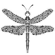 Fototapeta Grafické Tetování Vážky