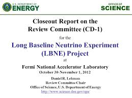 Science Project Report Classy Closeout Report On The Review Committee CD48 For The Long Baseline