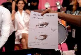tutorial miranda kerr key makeup look created by paige victoria 39 s secret fashion show 2016