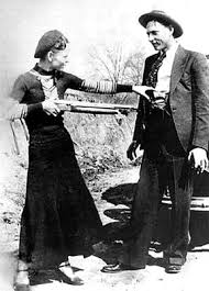 the story of bonnie and clyde in american memory guided history it shows bonnie playfully pointing a gun at clyde this photograph has since emerged multiple times in pop culture and