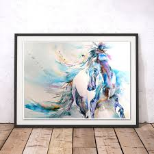 stylish horse wall art modern home decor stickers canvas pictures metal australia uk nz