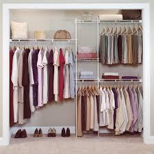 image of closetmaid 5 8 ft closet organizer kit