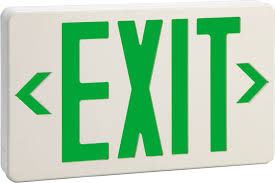 emergency exit sign board led emergency exit light fire exit sign