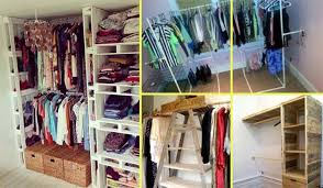 15 low cost diy closet for the clothes storage