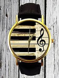 cheap custom men watches lightinthebox com piano keys g clef watch leather watch women s watch men s watch gift for her