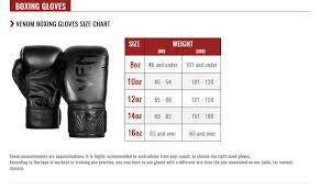 Boxing Glove Size Chart 12 Oz Gloves Size Images Gloves And Descriptions