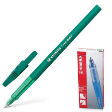 "Купить <b>Ручка шариковая STABILO</b> ""<b>Liner</b>"", ЗЕЛЕНАЯ, корпус ..."
